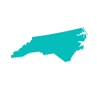 North Carolina - Teal Icon