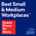 Fortune & Great Place to Work - Best Small & Medium Workplaces 2019